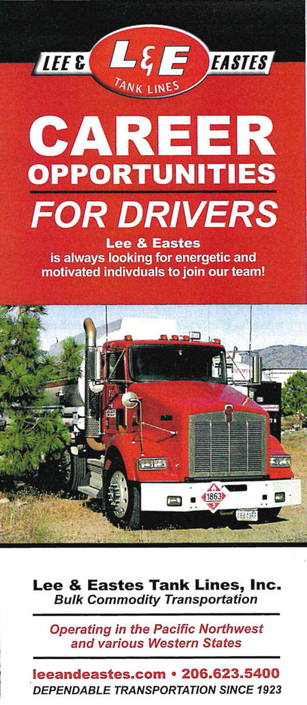 L&E Career Opportunities for Drivers