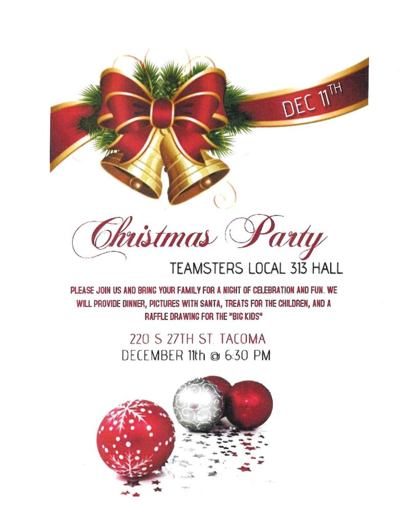 Teamsters Local 313 Hall Christmas Party
